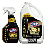 Clorox Urine Remover for Stains and Odors (32-oz. Spray Bottle and 128-oz. Refill Bottle)