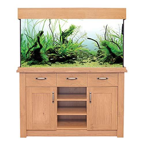 Oak Aquarium Fish Tanks Oak Style & Oak Shades (116cm / 230L, Oak Style)