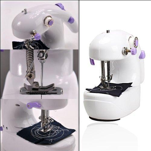 Mini máquina de coser eléctrica de mano: Amazon.es: Bricolaje y ...