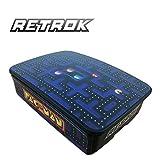 RetroK Case Raspberry + Set de pegatinas + Disipadores PI3/PI4 - Pacman Raspberry Pi4