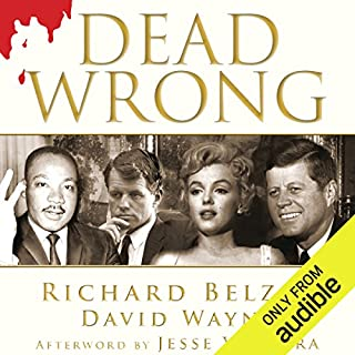 Dead Wrong audiobook cover art