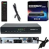 Echosat 30900 Digital Sat Receiver - DVB-S / DVB-S2 - Satelliten Digitaler Receiver - Full HD 1080p Satellit für TV (HDTV, HDMI , USB ,Scart) HDMI Kabel [Vorprogrammiert für Astra,Hotbird und Türksat]