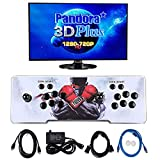 Atemou 4300 Games in 1 Pandora Box 3D+2D Arcade Games Console, 1280720P HDMI Classic Retro Game Machine for PC and Projector & TV, 2 Players,Double Joystick,Support Gamepads