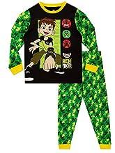 Ben 10 Pijamas para Niños Multicolor 11-12 Años