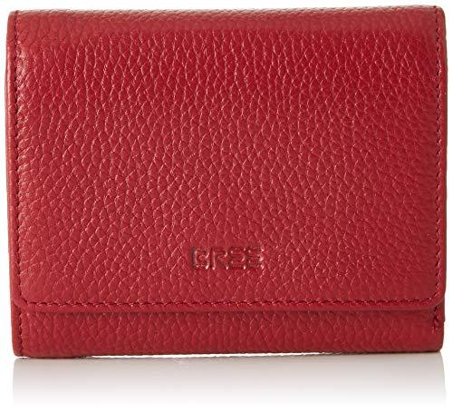 BREE Damen Liv New 106 Geldbörse, Schwarz (Brick Red), 2x11.5x13 cm
