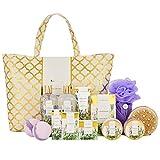 Bad Set Für Frauen, SPA LUXETIQUE 15 tlg. Set Lavendel Duft, Bestes Geburtstagsgeschenk für Sie...