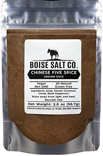 Boise Salt Co. Chinese 5 Spice Powder Seasoning 2 Ounce