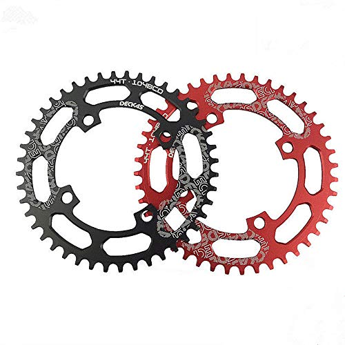 zeker HemeraPhit Mountain Bike Single Chainring Aluminum Narrow Wide Chainwheel BCD 104mm 32T 34T 36T 38T Repair Bicycle Parts
