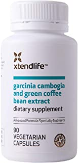 Xtend-Life Garcinia Cambogia & Coffee Bean Extract - Natural Weight Loss Supplement, Appetite Suppressant, Fat Burner & Ca...