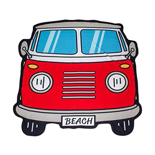 Balvi-BeachToalladePlayaodePiscina.DiseñoRetroyOriginal.DiseñodeFurgonetasurfera.