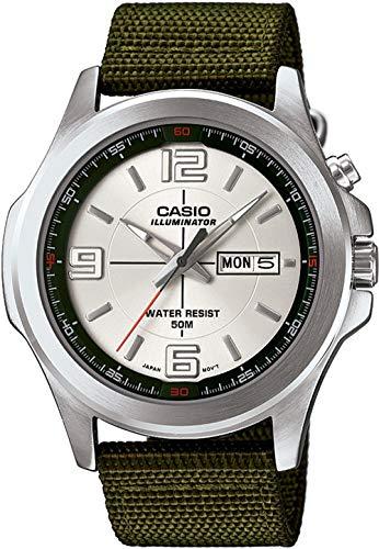 Casio Reloj de Pulsera MTP-E202-3