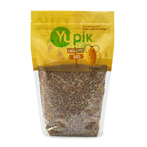 Yupik Organic Super 6 Seeds Mix, 2.2 Pound