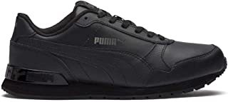 Puma Kids-Unisex ST Runner v2 L Jr Black-Dark Shadow