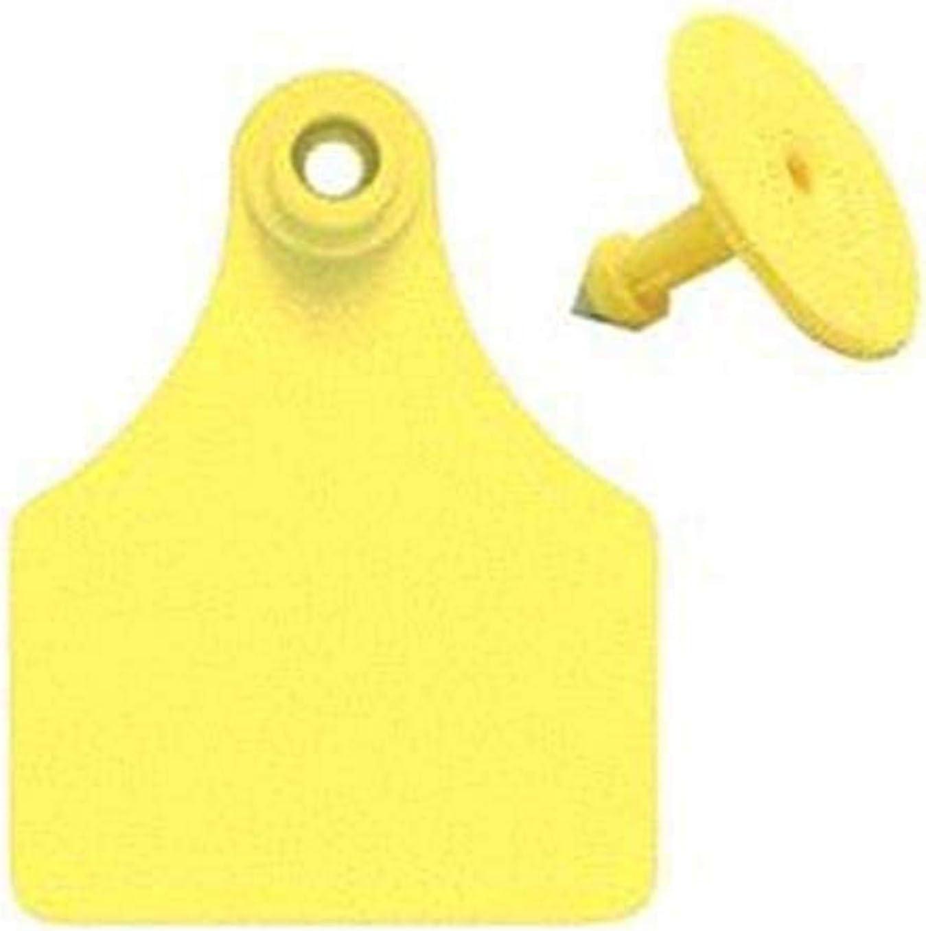 Allflex Usa 激安通販販売 GLF050 GSMY 096222 Numbered Ear 倉 #26-50 Tag Yellow