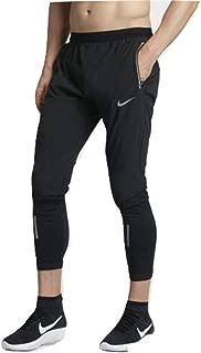 Men's Flex Swift Running Pants Black/Reflective Silver (X-Large)