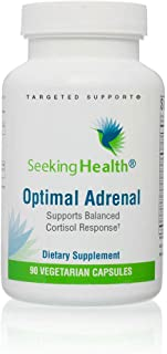 Sponsored Ad - Seeking Health | Optimal Adrenal | Adrenal Support Supplement | 90 Vegetarian Capsules for Adrenal Health