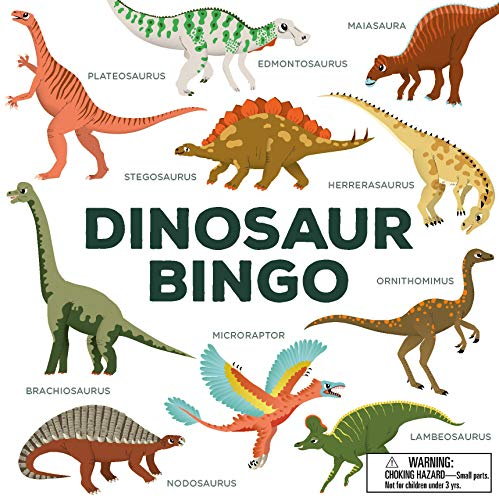 Dinosaur Bingo: (An easy-to-play game...
