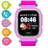 GPS Smartwatch per Bambini, Orologio Telefono con GPS Locator Chat Vocale SOS Vocale Anti-lost da...