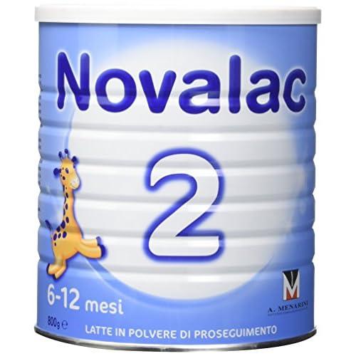 NOVALAC 2 - Latte Di Proseguimento In Polvere 6-12 Mesi - 800 G, Bianco