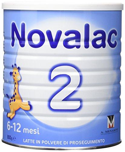 Novalac Latte per Bambini, 6-12 mesi - 800 gr