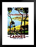 Foundry Poster Cannes Hiver Antik 20x26 inches Matted