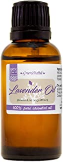 100% Pure Lavender Essential Oil - 1 fl oz - Premium Undiluted Therapeutic Grade Natural From Bulgaria - Aromatherapy for ...