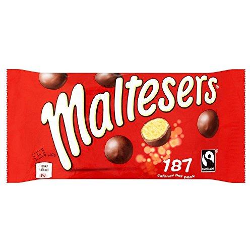 Maltesers Box -Schokoladen Box - 37g x 6, 6-er Pack