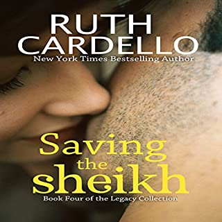 Saving the Sheikh audiobook cover art