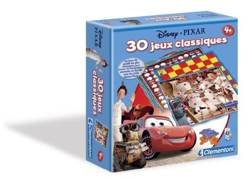 Clementoni-62096-Jeu de société pour enfants-30 Jeux Classiques Pixar