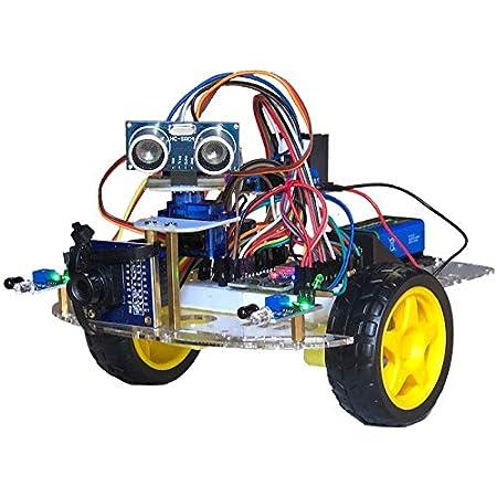 sLab-Car(エスラボ・カー)スマートロボットカー【Scratch・Arduino対応】スターターキット《IoT電子工作・AI学習・プログラミング》 (標準)