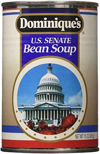 Dominique's US Senate Bean Soup, 15-Ounce Cans (Pack of 12)
