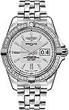 Breitling Galactic 41 Automatic Diamond Bezel Men's Watch A49350LA/G699-366A