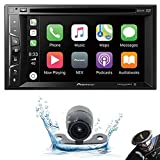 Pioneer AVH-1500NEX Double DIN Apple CarPlay in-Dash DVD/CD/AM/FM Car Stereo Receiver w/ 6.2' Touchscreen +...