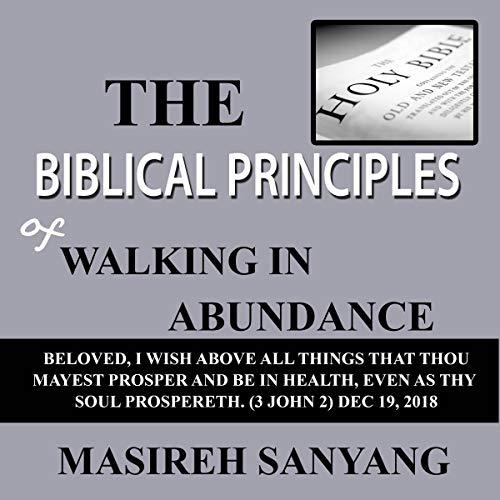 The Biblical Principles of Walking in Abundance cover art