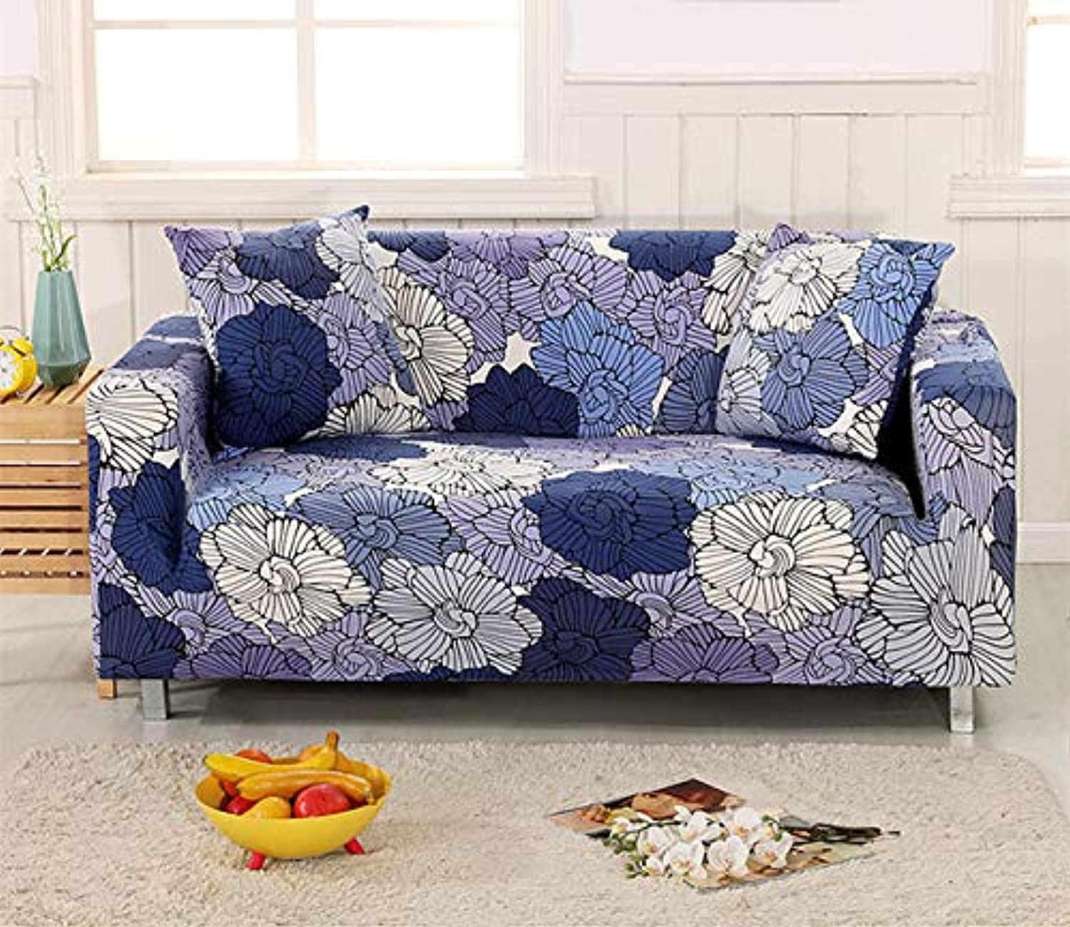 High Quality Couch Cover Sofa Covers for Living Room Lobby Soft Sofa Cover Elastic Universal Seats Cover cubierta para Sofa   LuoLanYun, Single Seater