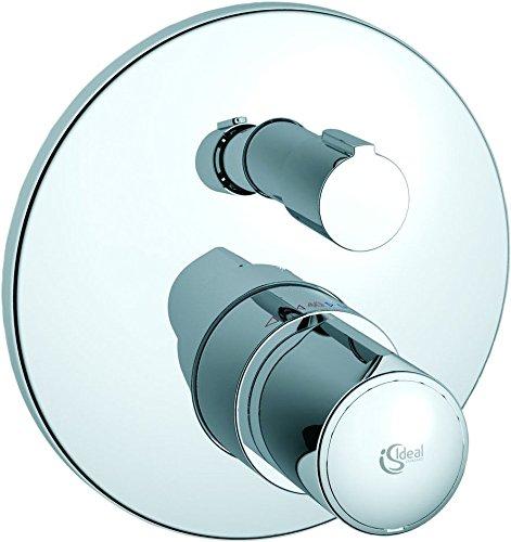 Ideal Standard Fertigmontageset A4721AA für Einzelthermostat, Bausatz 2, verchromt