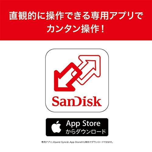 SanDiskiXpandフラッシュドライブ64GB[iPhone/iPadのデータ転送やバックアップに最適]SDIX-064G-J57