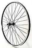 Vuelta 28 Zoll Fahrrad Laufrad Vorderrad Hohlkammerfelge Cut 19 Shimano Deore 610 schwarz für V-Brakes/Felgenbremse
