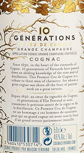 Pierre Ferrand 10 GÉNÉRATIONS Cru de Cognac Grande Champagne, (1 x 0.5 l) - 4