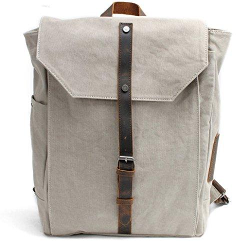YAAGLE NEU Unisex Rucksack Backpacks Vintage Bodybag Schultertasche Laptop bis zu 17 Zoll Fashion Große Schultasche