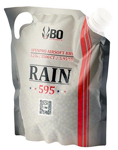 Billes Airsoft BO Rain 0.25 g Sachet 3500