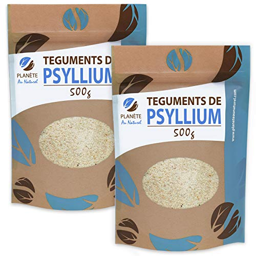 Psyllium Blond Téguments 500 g x 2