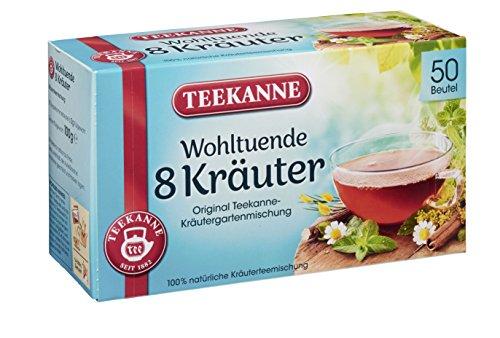 Teekanne 8 Kräuter 50 Beutel, 12er Pack (12 x 100 g)