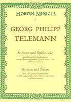 ゲオルク・フィリップ・テレマン : ソナタと小品 忠実な楽長より (フルート、オーボエ、ヴァイオリン、通奏低音) ホルトゥス・ムジクス(ベーレンライター)出版
