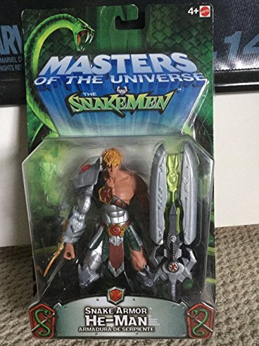 Masters of the Universe Motu Snake Armor He-man 200x MOC Very Rare