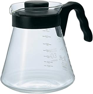 Hario Kaffeserver V60 1 000 ml klart glas (japanskt import)
