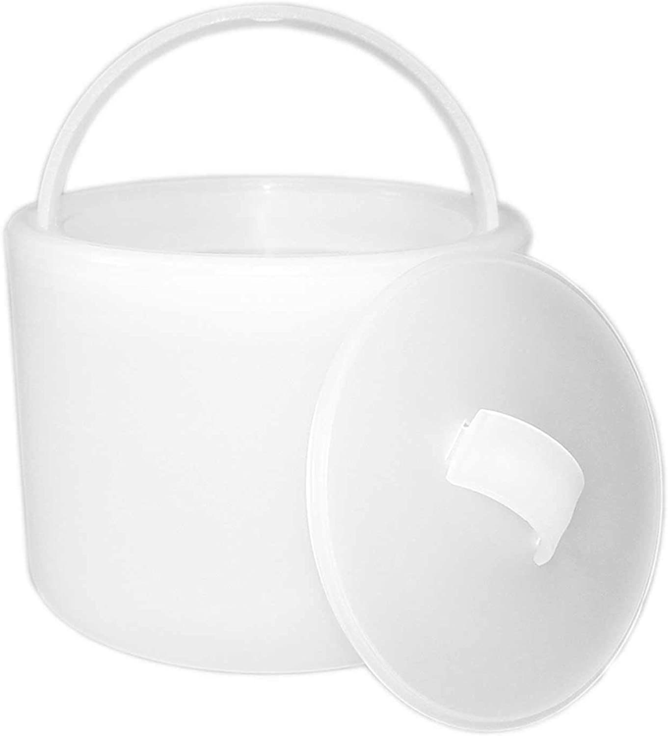 mejor precio Party Essentials Hard Plastic Plastic Plastic 6-1 2 Ice Bucket with Lid, Translucent by Party Essentials  buena reputación