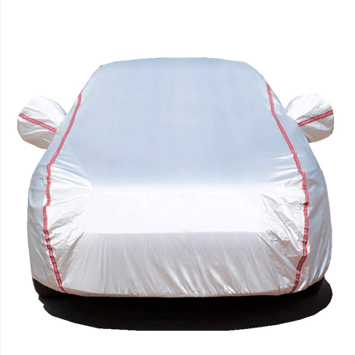 LIDAUTO Car Covers Auto Full Cover Snow Ice Dust Sun UV Shade Light Size Outdoor Protector Size 3M-3L