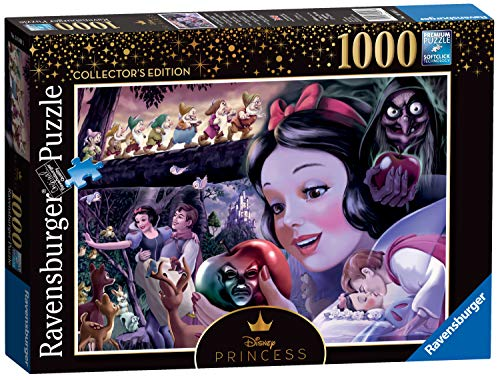 Ravensburger- Snow White Collector's Edition Princesa Disney Princess Heroines No.1-Rompecabezas de 1000 Piezas, Color Blanco, Multicolor (14849)