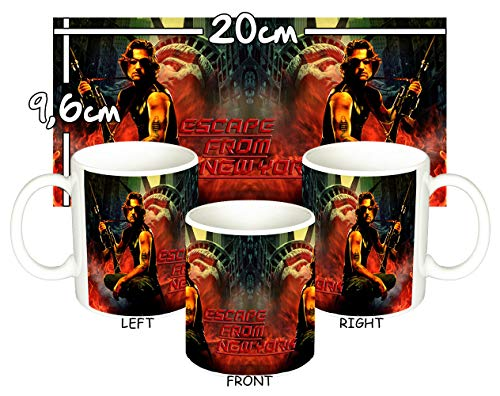 MasTazas 1997 Rescate En Nueva York Escape from New York Kurt Russell Taza Mug